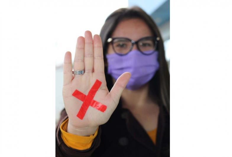 """Fartura adere campanha """"Sinal Vermelho!"""" - contra a violência doméstica"""