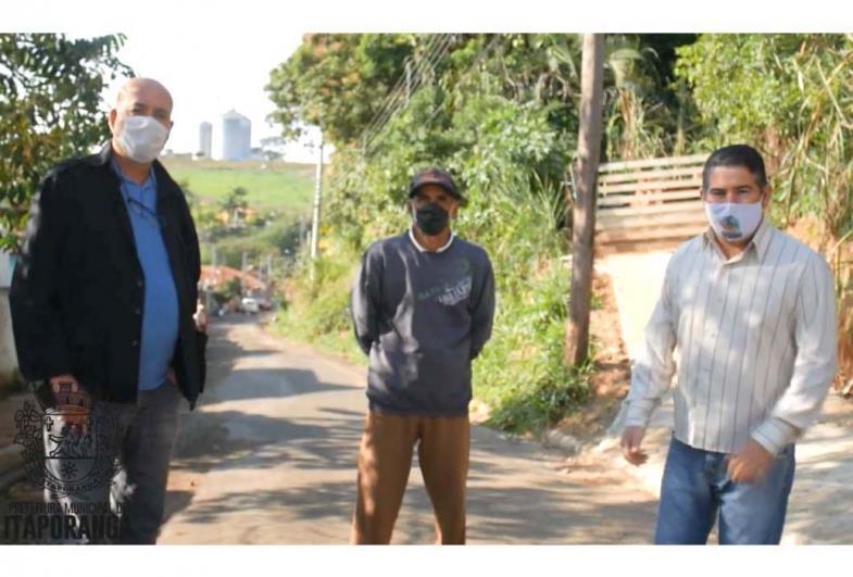 Prefeitura realiza obra de galeria de águas pluviais no Bairro Lava Pé