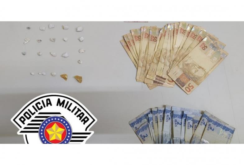 Jovem é preso por tráfico de drogas no Bairro Bonsucesso