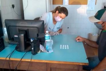 Taguaí realiza testes de covid-19 nos servidores municipais