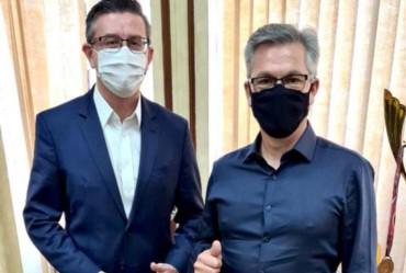 Prefeito de Sarutaiá solicita verbas na Secretaria Estadual de Esportes