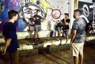 "Prefeito Luciano Filé visita Pista de Skate ""Daniel Manesco"" de Fartura"
