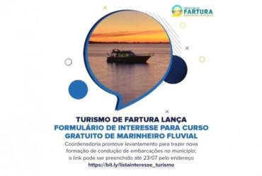 Interessados em conduzir embarcações podem se alistar para curso gratuito em Fartura