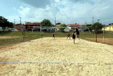 Torneio de volei de areia marca a retomada das atividades esportivas em Timburi