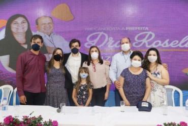 Dra. Roseli e Ruizinho fecham parceria como pré-candidatos em Paranapanema
