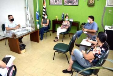 Representantes da Santa Casa se reúnem com prefeito de Fartura