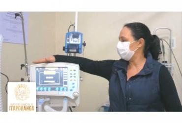 Hospital de Itaporanga adquire dois ventiladores pulmonares