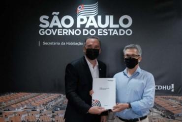 Prefeito assina convênio para revitalização de Praça no CDHU