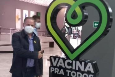 """Edinho participa do lançamento do programa """"Cidade Acessível"""""""