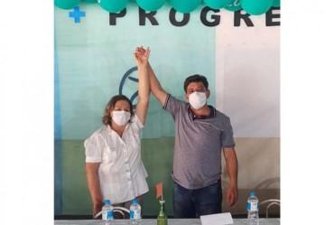 Convenção define pré-candidaturas de Doriveti a prefeito e Beatriz a vice