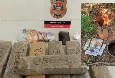 Homem é preso com mais de seis quilos de maconha em Avaré