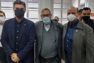 Valtinho se encontra com vice-governador em busca de melhorais