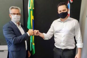Isnar se reúne com o secretário Marco Vinholi em São Paulo