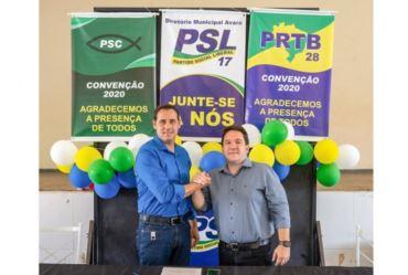 Sargento Monteiro e Toninho da Lorsa são pré-candidatos em Avaré