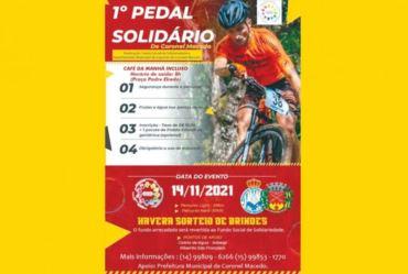 Vem aí o 1º Pedal Solidário de Coronel Macedo