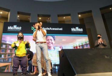 Governador Doria lança programa de acessibilidade para municípios e homenageia atletas paralímpicos
