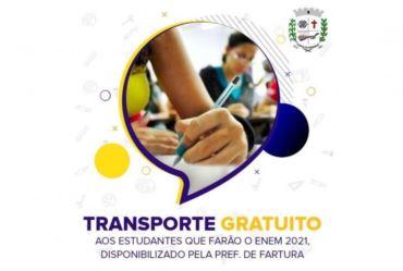 Prefeitura concede transporte gratuito para Enem em Piraju