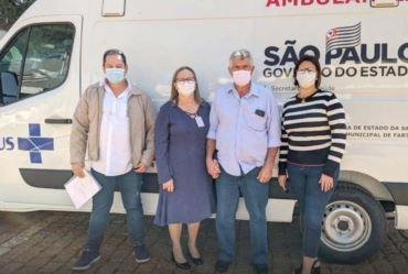 Fartura conta agora com ambulância equipada com UTI